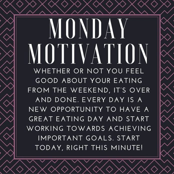 Fitness Quotes Monday Motivation Whether Or Not You Feel Good About Your Eating From The Weeke Healthy Leading Health Well Being Inspiration Source