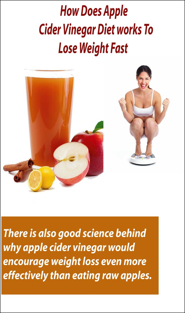 Diet Plans : How Does Apple Cider Vinegar Diet Works To