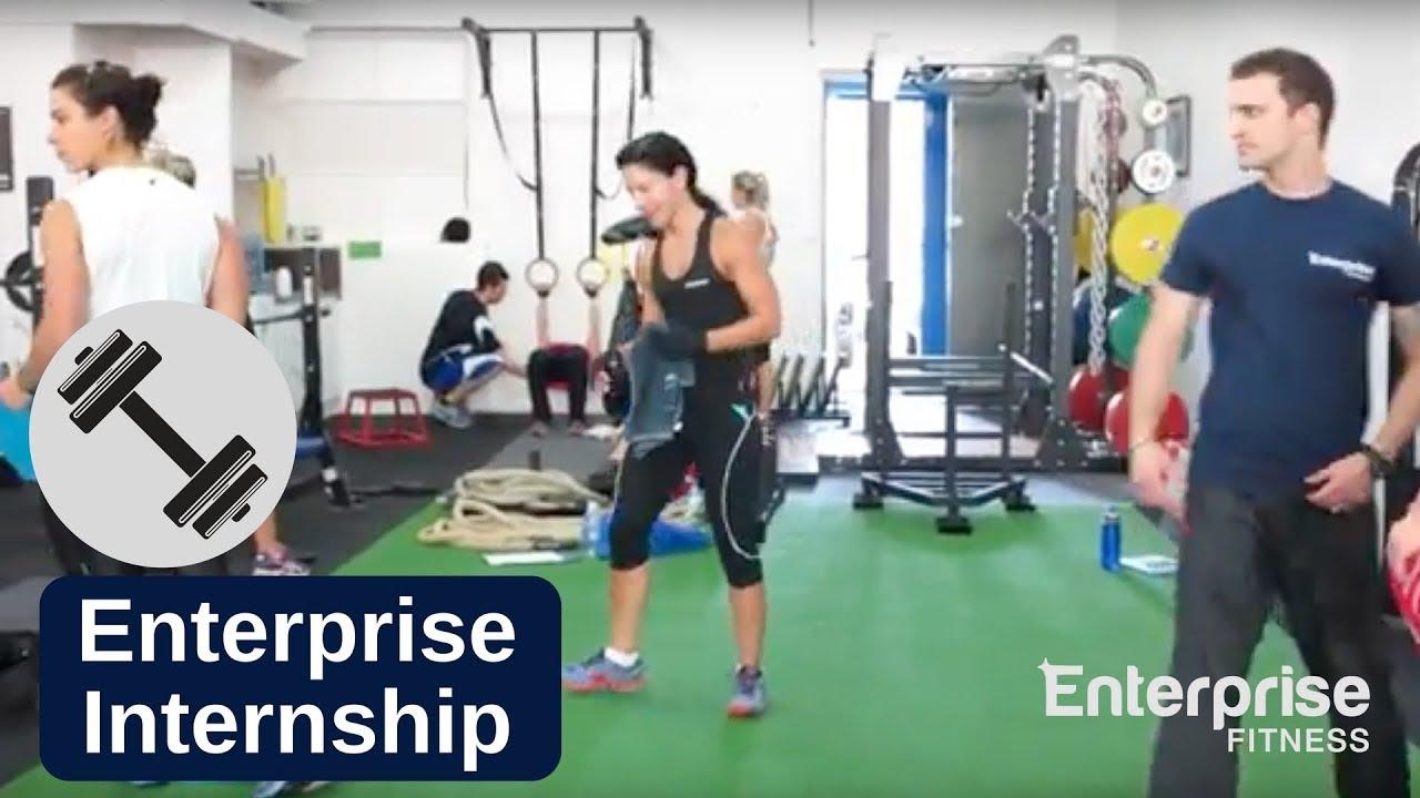 best workout plans video personal training internship