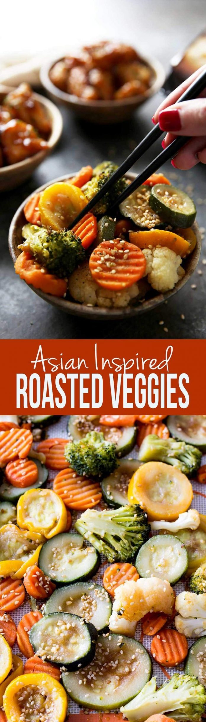 Healthy Recipes : Easy asian inspired veggies roasted in ...
