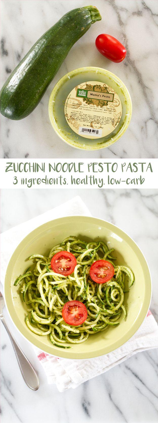 recipe: low calorie pesto pasta [22]
