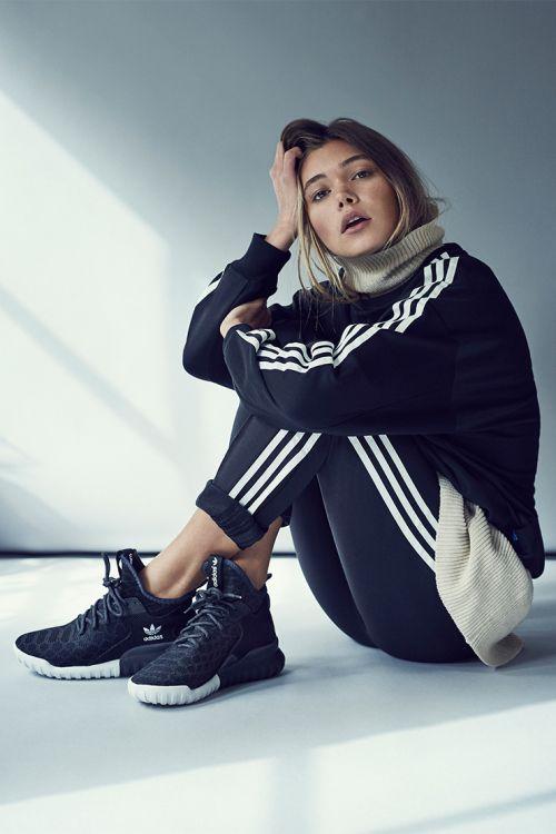 Gimnasio desgaste de moda para la mujer: adidas Originals tubular Premium x