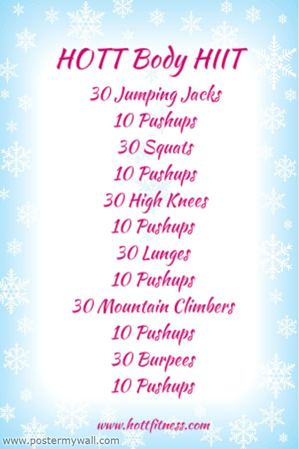 Workouts : HIIT High Intensity Interval Training Workout ideas for ...