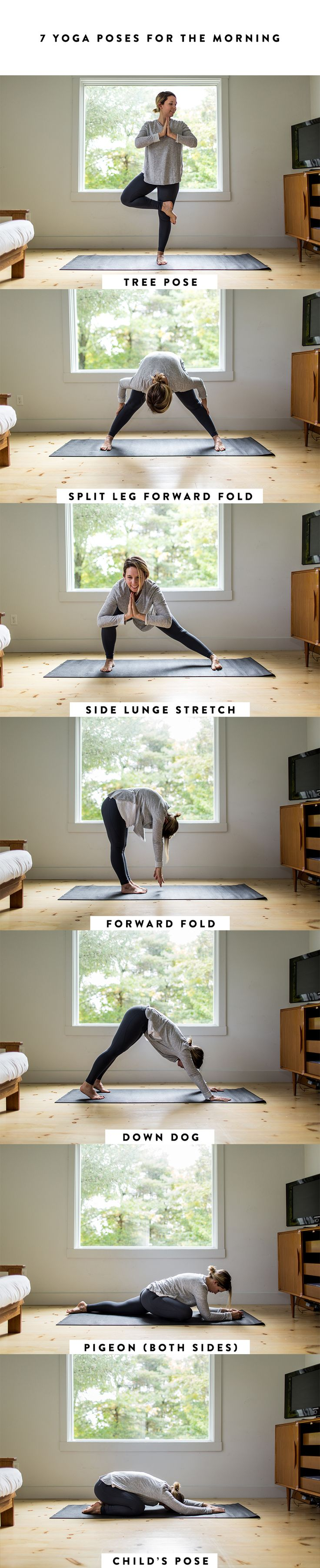 Workouts : A SImple Morning Yoga Routine to Make the Most ...