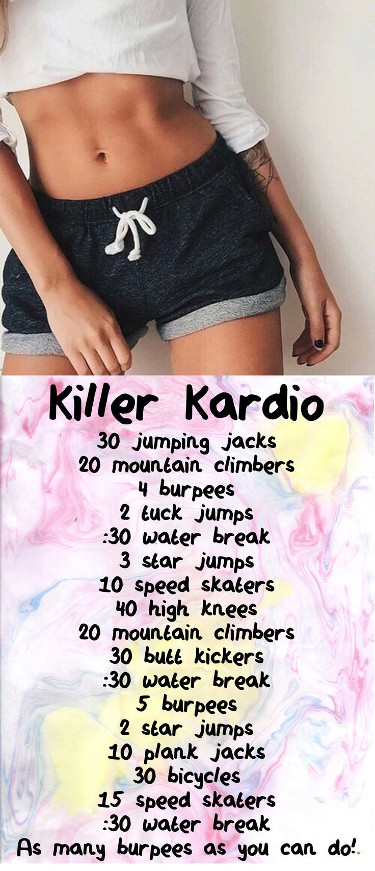 Workouts Cardio Workout At Home For Beginners Fat Burning And