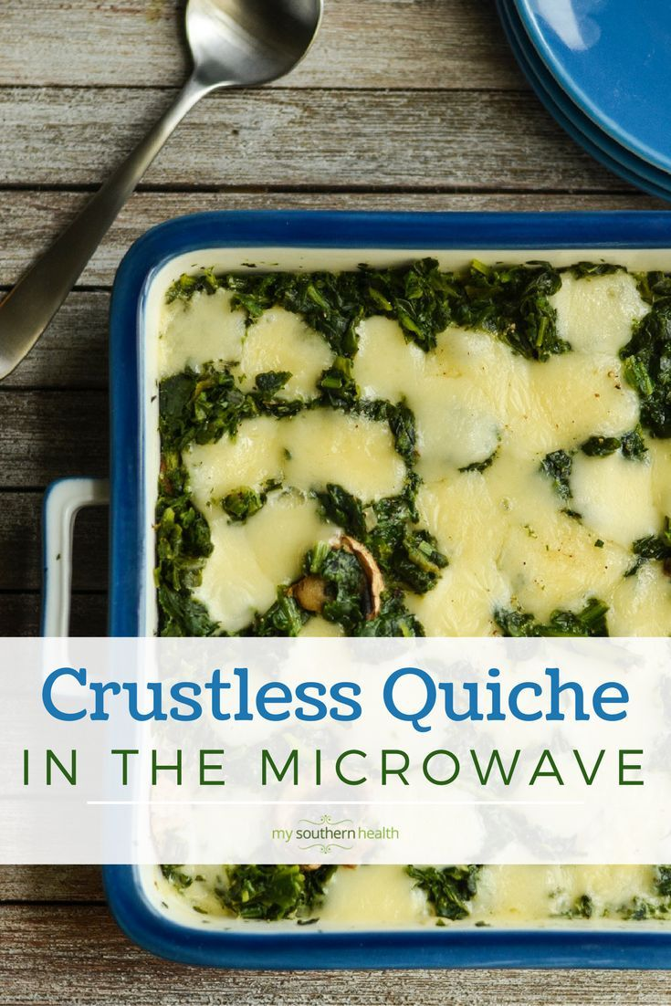 Healthy recipes crustless quiche microwave meals gluten free healthy recipes forumfinder Choice Image