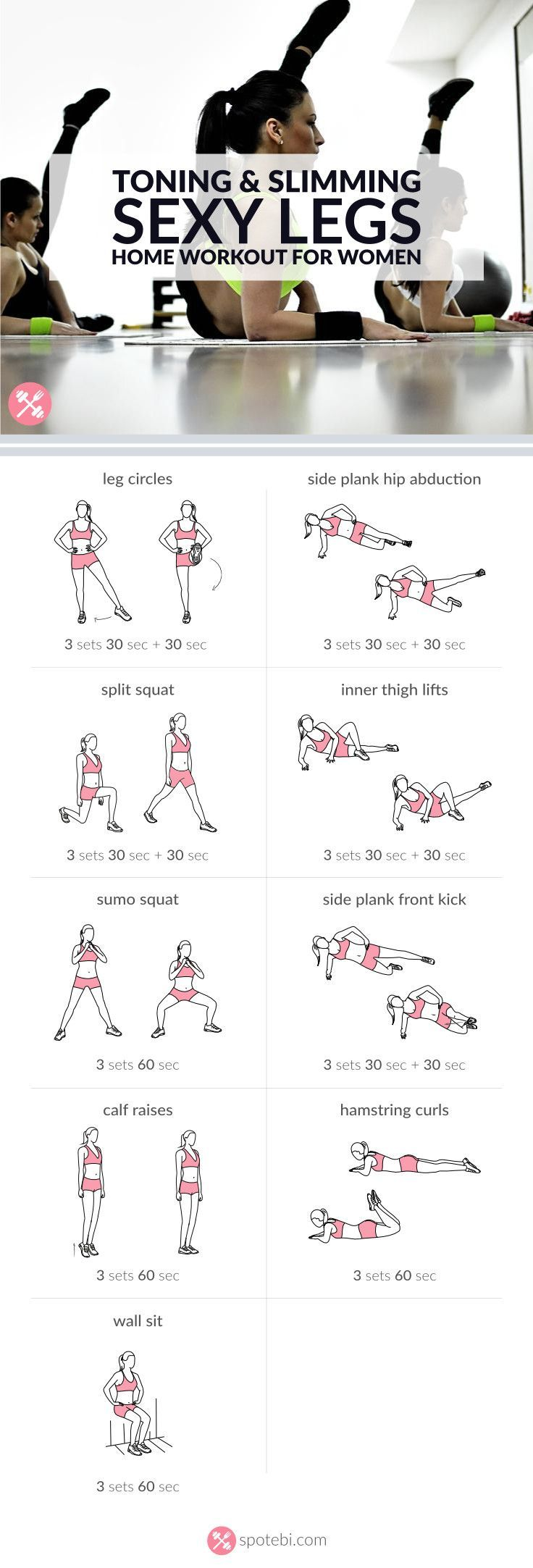 Workouts Get Lean And Strong With This Sexy Legs Workout 9 Toning