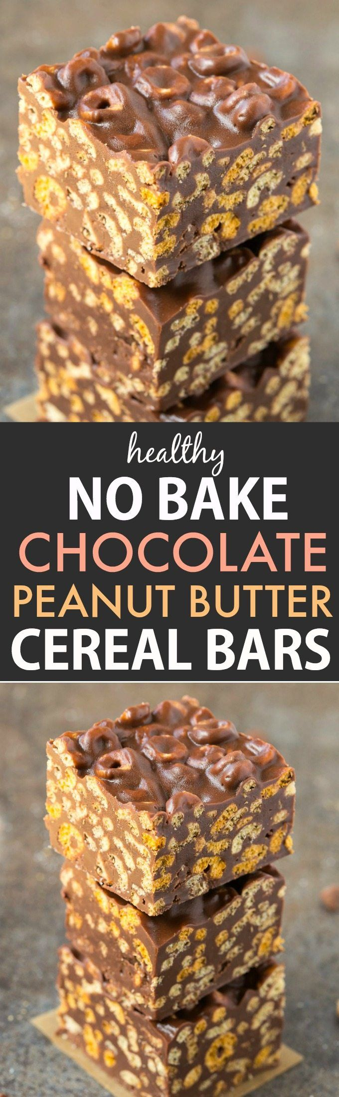 Healthy Recipes : Healthy No Bake Chocolate Peanut Butter