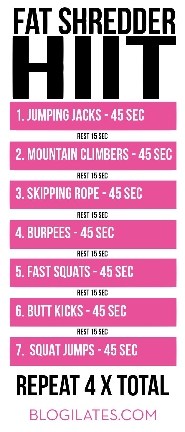 Circuito Hiit : Workouts pop pilates at hour fitness and the best hiit timer