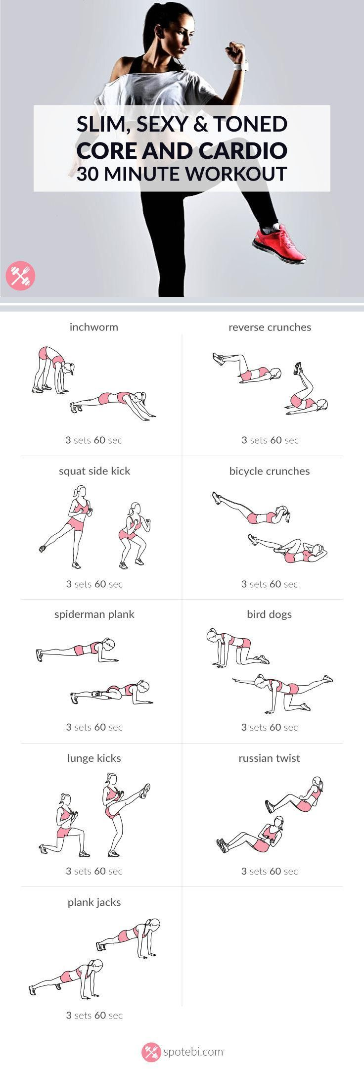 Workouts Work Your Abs Obliques And Lower Back With This Core