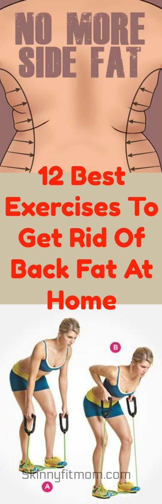 Healthy Lifestyle Goals 12 Best Exercises To Get Rid Of Back Fat At Home Pinned Over 5k Times Healthy Leading Health Well Being Inspiration Source